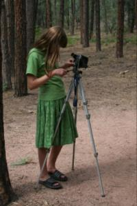 Kayla; videotographer